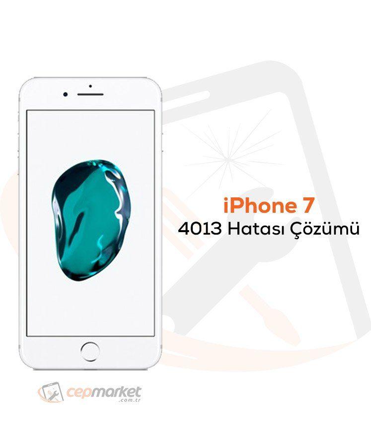 iPhone 7 4013 Hatası Çözümü