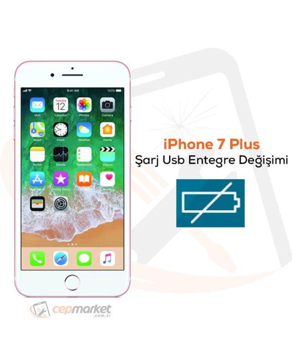 iPhone 7 Plus Şarj Usb Entegre Değişimi