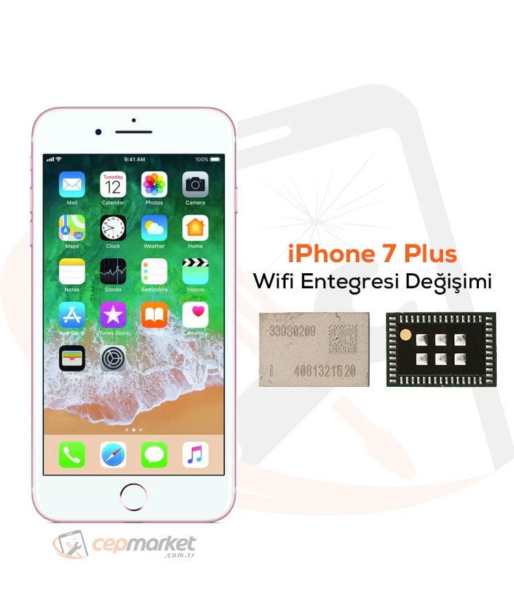 iPhone 7 Plus Wifi Entegresi Değişimi