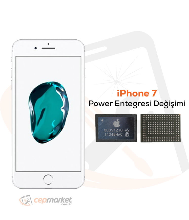 iPhone 7 Power Entegresi Değişimi