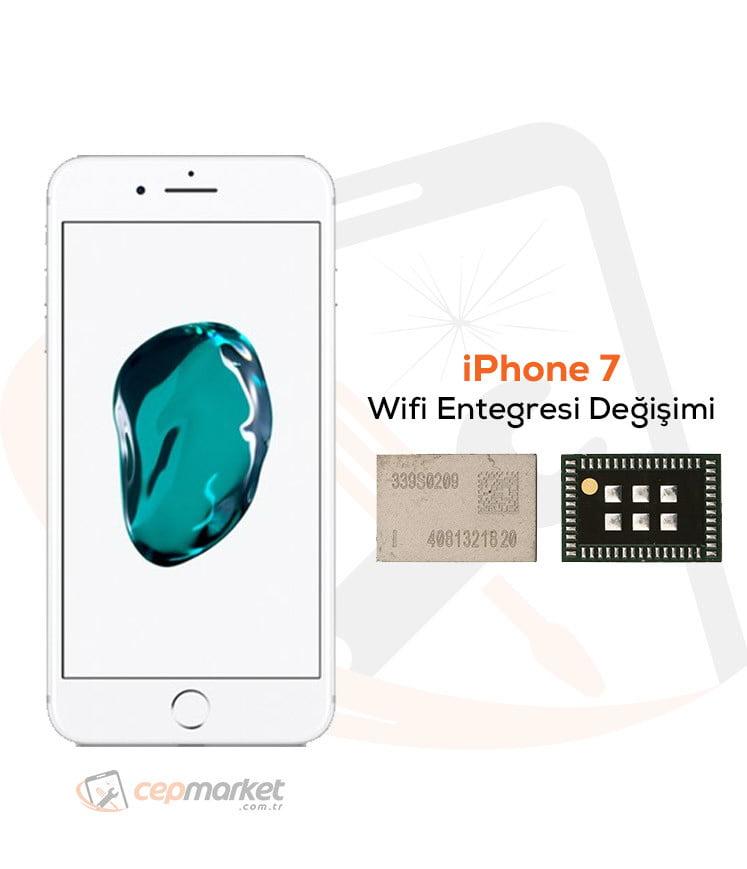 iPhone 7 Wifi Entegresi Değişimi