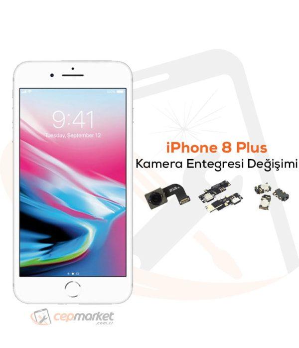 iPhone 8 Plus Kamera Entegresi Değişimi