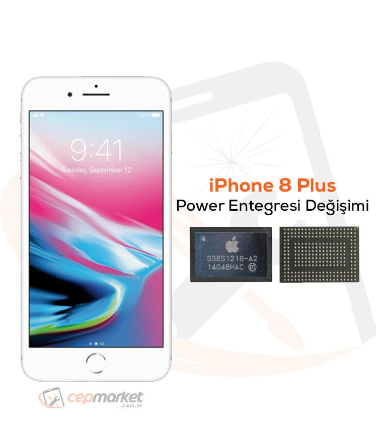 iPhone 8 Plus Power Entegresi Değişimi