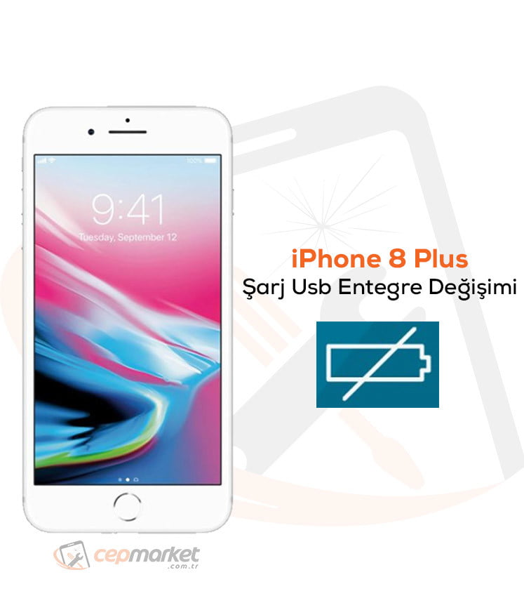 iPhone 8 Plus Şarj Usb Entegre Değişimi
