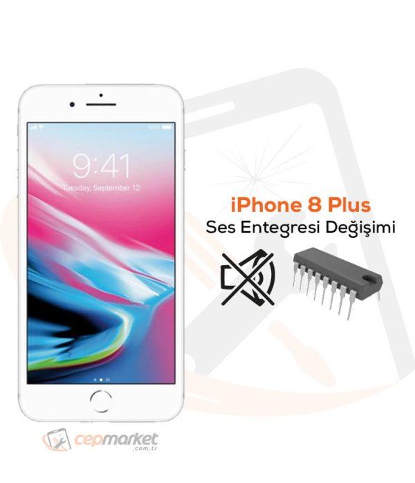 iPhone 8 Plus Ses Entegresi Değişimi