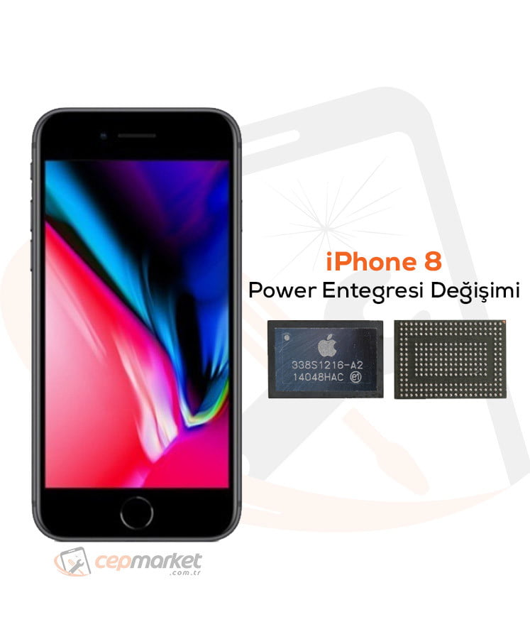 iPhone 8 Power Entegresi Değişimi