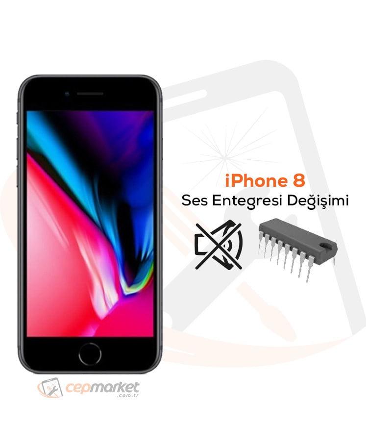 iPhone 8 Ses Entegresi Değişimi