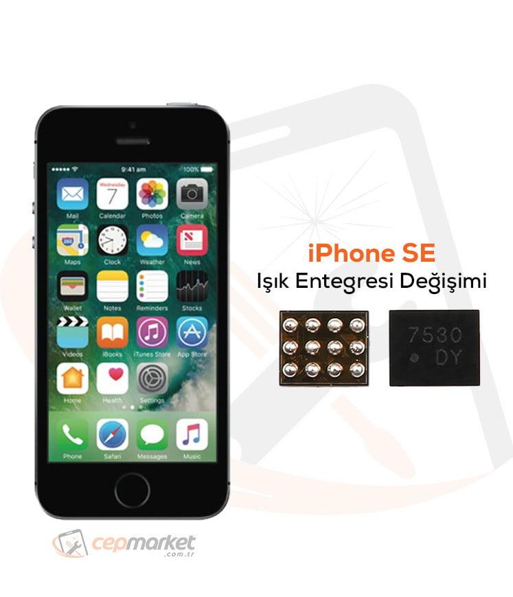 iPhone SE Işık Entegresi Değişimi