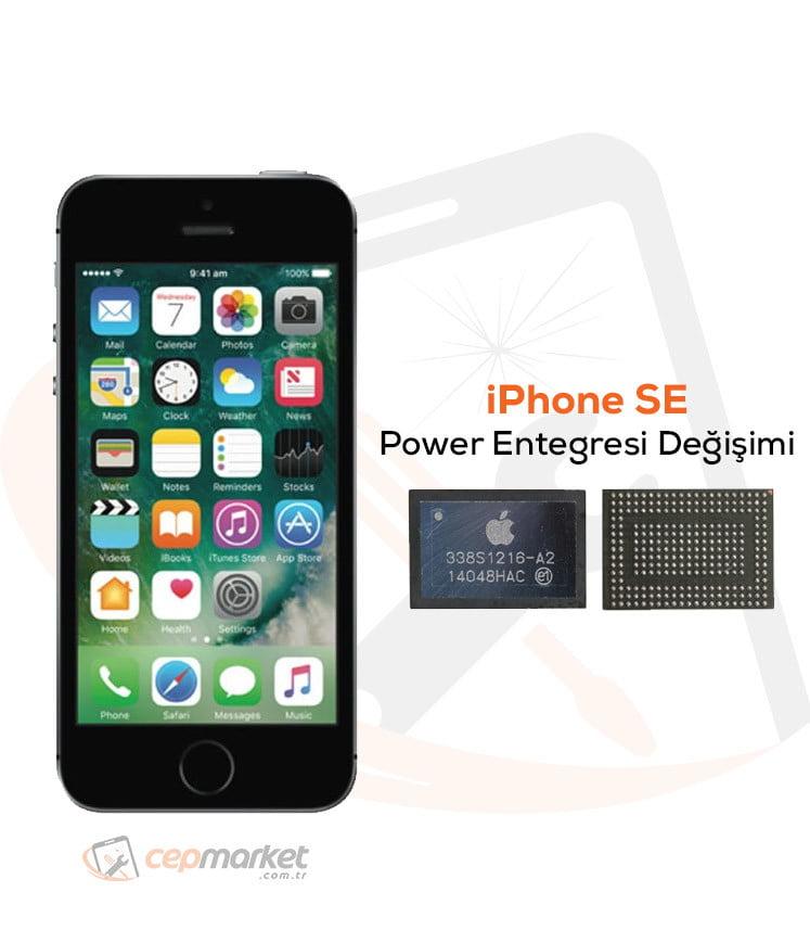 iPhone SE Power Entegresi Değişimi