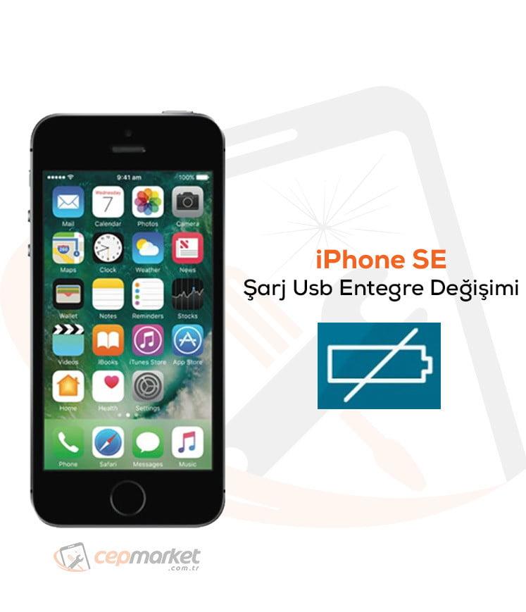 iPhone SE Şarj Usb Entegre Değişimi
