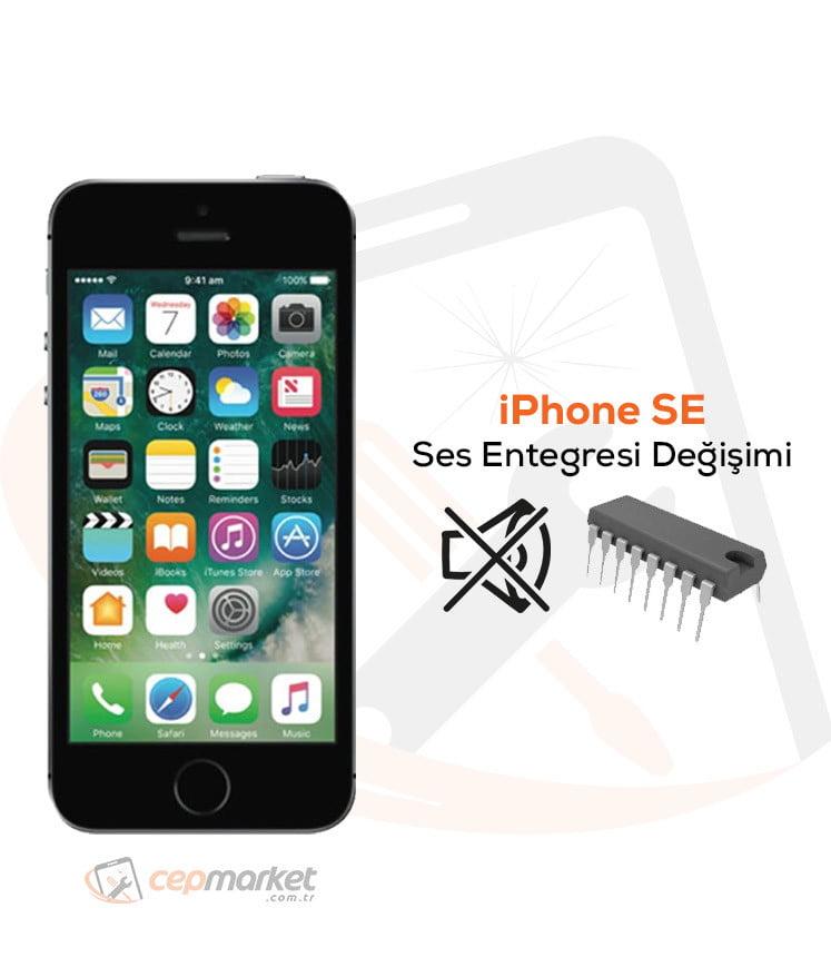 iPhone SE Ses Entegresi Değişimi