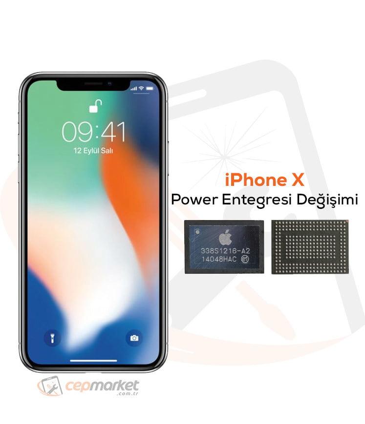 iPhone X Power Entegresi Değişimi