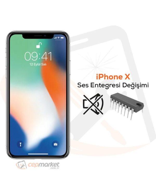 iPhone X Ses Entegresi Değişimi