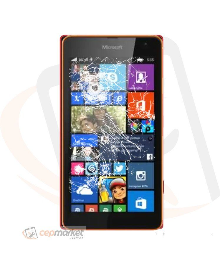 Nokia Lumia 535 Ekran Değişimi