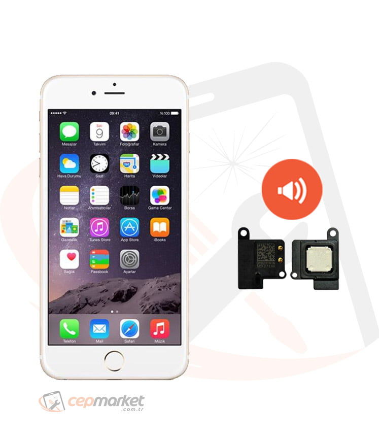iPhone 6S Plus Hoparlör Ahize Değişimi