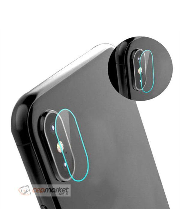 iPhone X Kamera Camı Tamiri