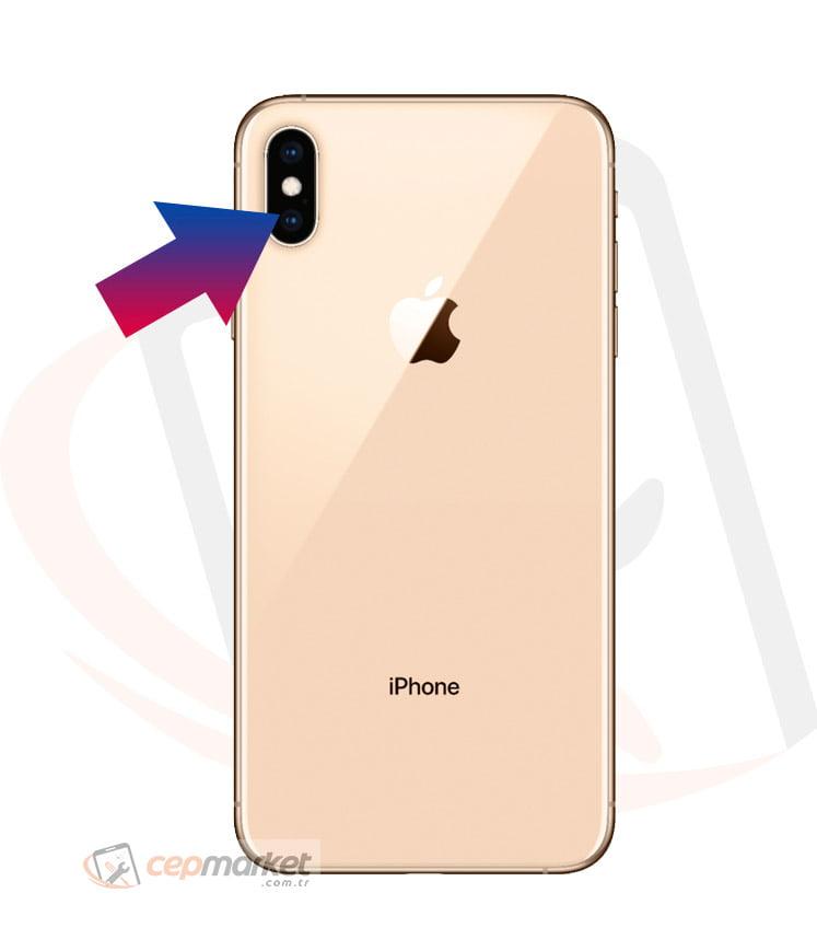 iPhone XS Arka Kamera Camı Değişimi