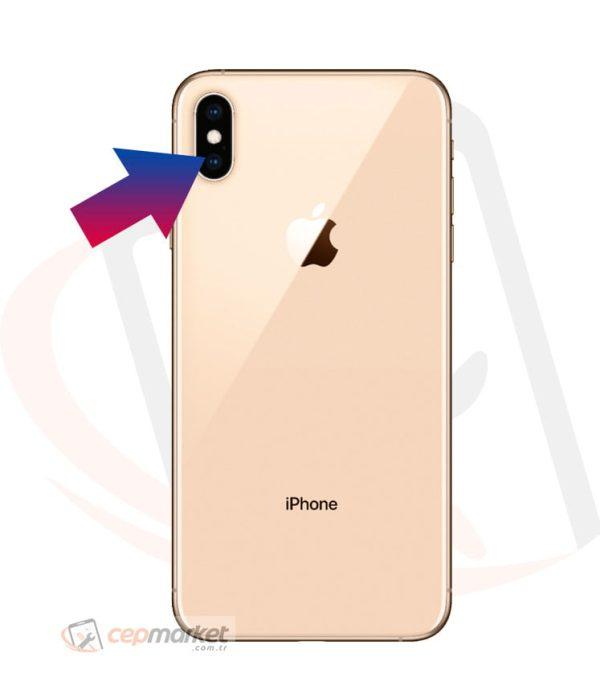 iPhone XS Max Arka Kamera Camı Değişimi