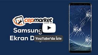 Samsung Galaxy S8 Ekran Camı Değişimi, S8 Ekran Kırıldı Kaç Para ? Sesli Anlatım