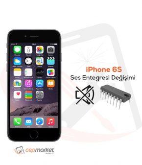 iPhone 6S Ses Entegresi Değişimi
