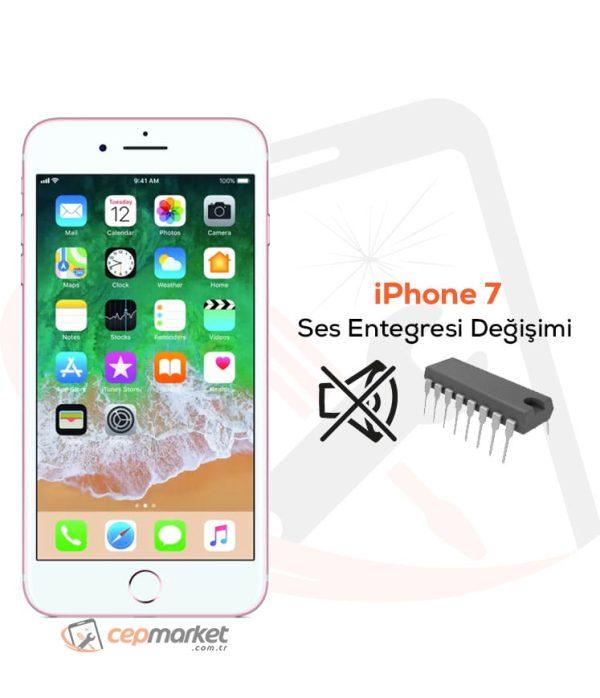 iPhone 7 Ses Entegresi Değişimi