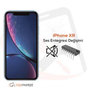 iPhone XR Ses Entegresi Değişimi