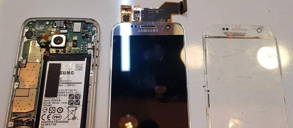 Samsung Ekranında Işık Sızması