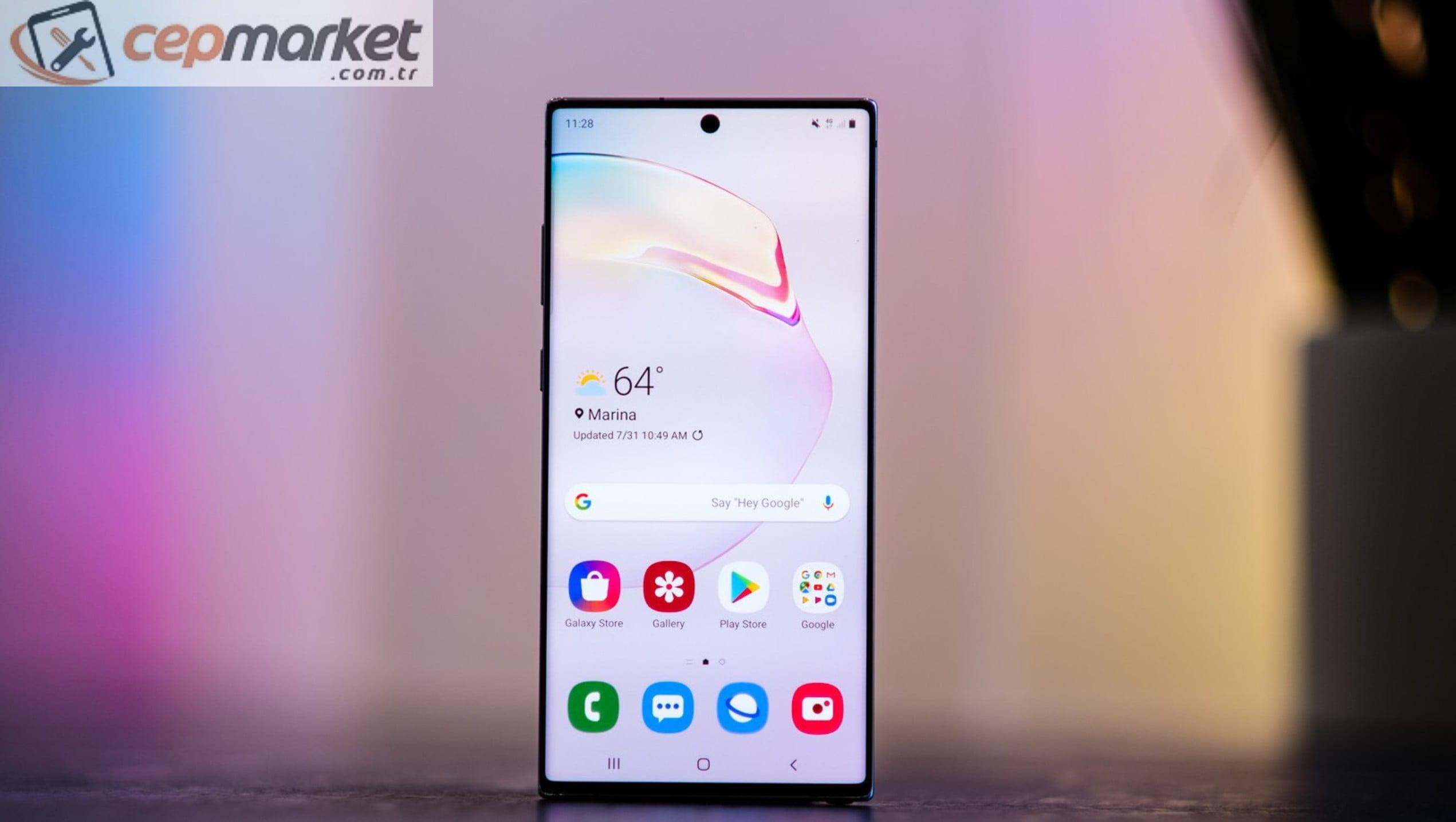 Samsung Ekran Filmi Değişimi