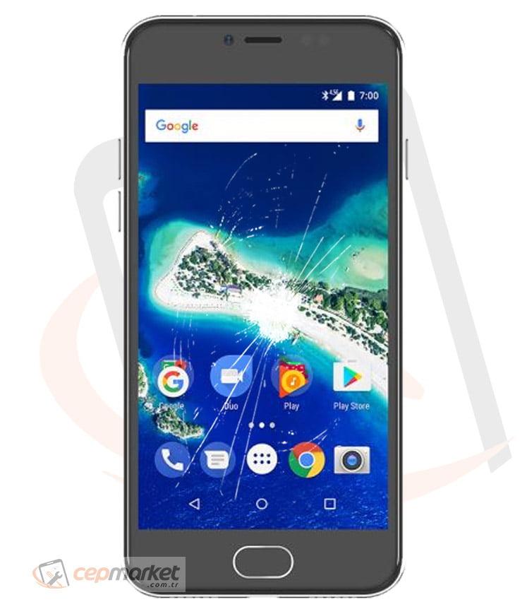 General Mobile Discovery GM 6 DS Ekran Değişimi