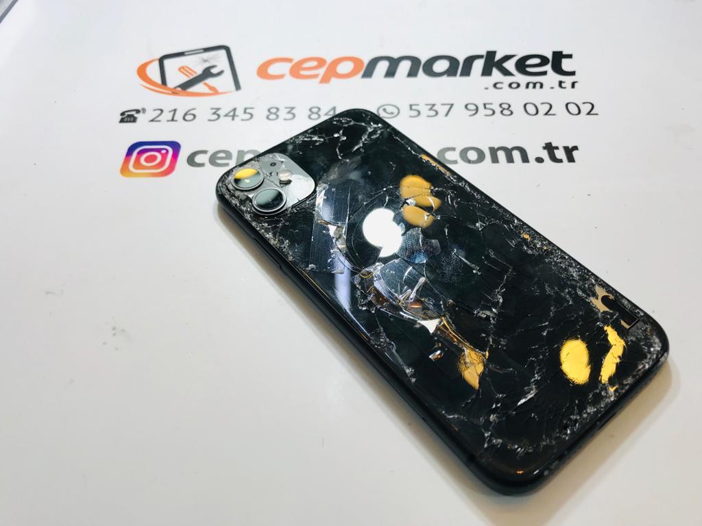 iPhone Arka Kasada Çizik Giderme