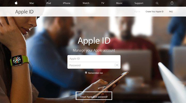 Apple Kimliği Şifremi Unuttum