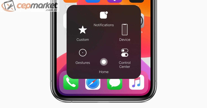iPhone Assistive Touch Çalışmıyor
