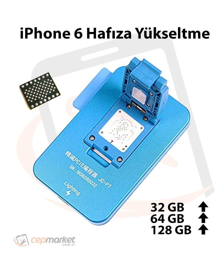 iPhone 6 Hafıza Yükseltme