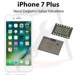 iPhone 7 Plus Hafıza Yükseltme Nand Değişimi