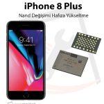 iPhone 8 Plus Hafıza Yükseltme Nand Değişimi