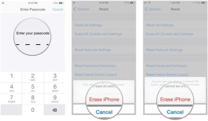 Iphone Format Nasıl Atılır?