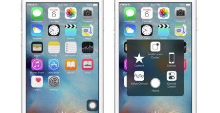 iPhone Geri Tuşu Uygulaması