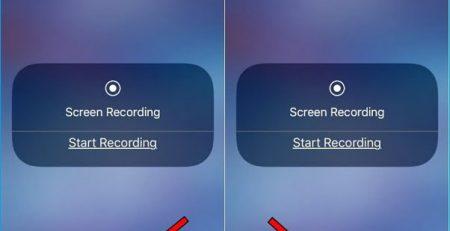 iPhone Ekran Kaydetme Ses Yok