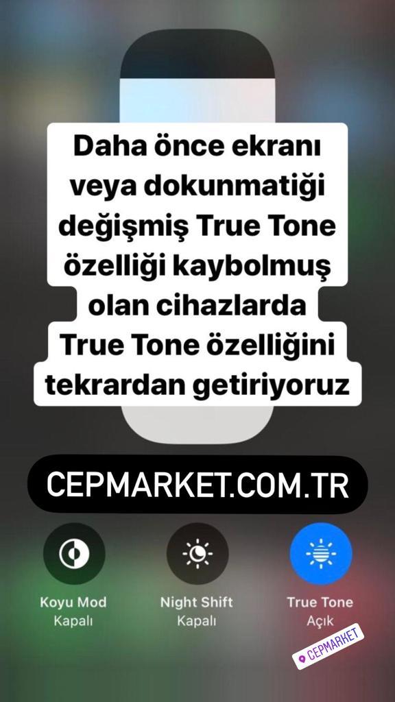 True Tone'U Kaybolan Iphone'A Özelliği Geri Getirmek