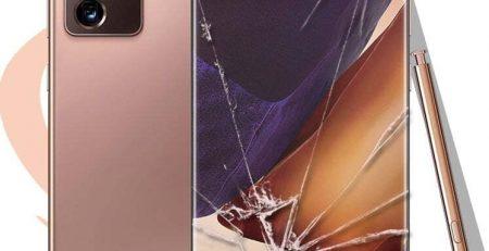 Samsung Galaxy Note 20 Ultra Ön Cam Değişimi Detay