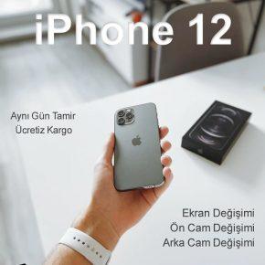 iPhone 12 Pro Max Arka Cam Değişimi Detay