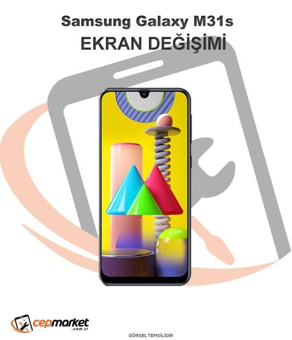 Samsung Galaxy M31S Ekran Değişimi