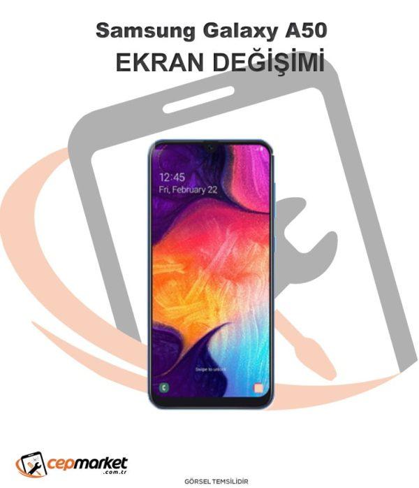 Samsung Galaxy A50 Ekran Değişimi