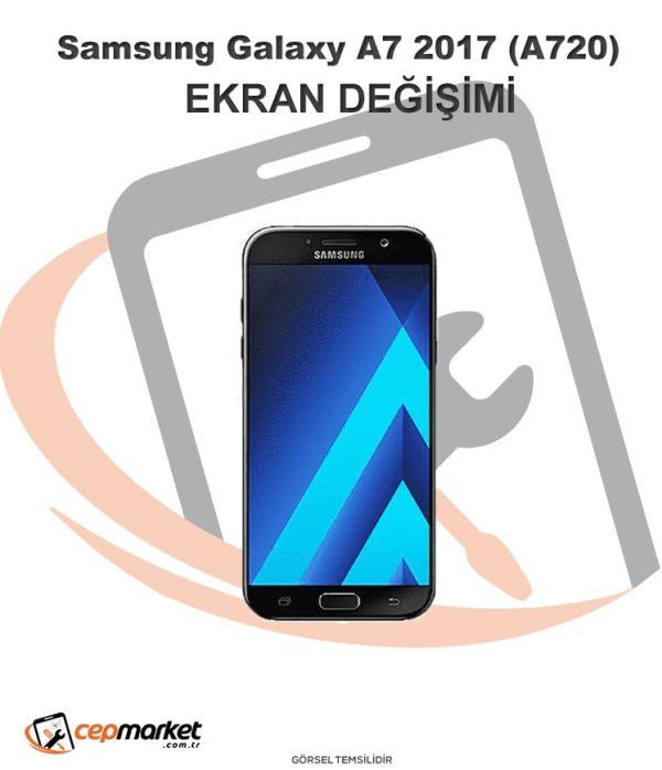 Samsung Galaxy A7 2017 (A720) Ekran Değişimi