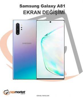 Samsung Galaxy A81 Ekran Değişimi
