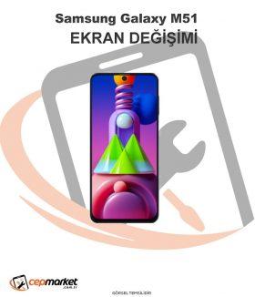 Samsung Galaxy M51 Ekran Değişimi