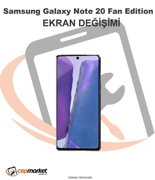 Samsung Galaxy Note 20 Fan Edition Ekran Değişimi