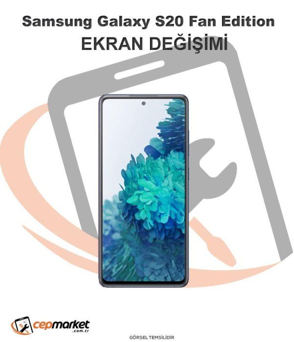 Samsung Galaxy S20 Fan Edition Ekran Değişimi